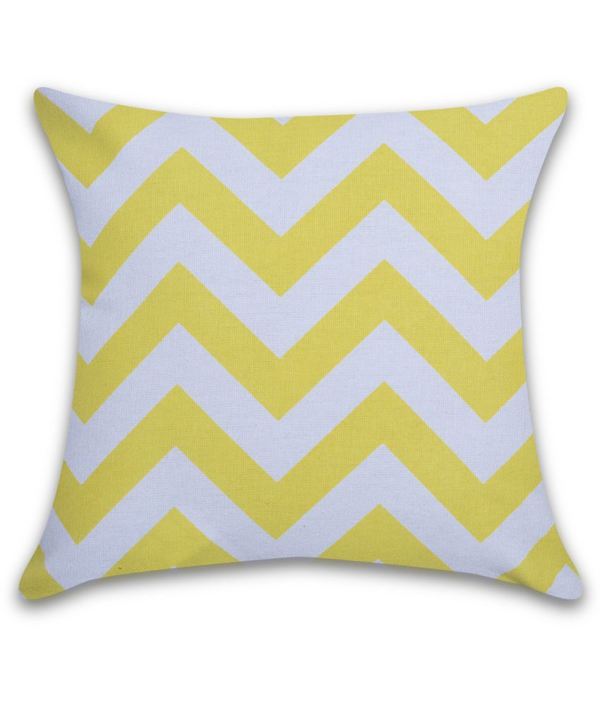 Home And We Single Cotton Cushion Covers 30X30 cm (12X12)