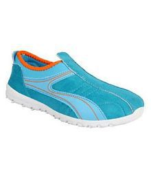 Bata Blue Casual Shoes