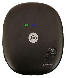 Reliance jio (4th generation) 1200 4G Black - Data card / Mifi router / Dongle