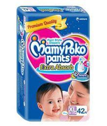 MamyPoko Pants Extra Absorb Diaper XL-38