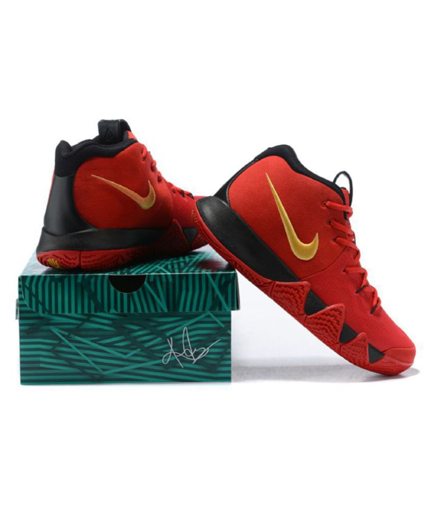 new concept 51f9e ed096 ... inexpensive nike kyrie 4 blood red basketball shoes 892a6 17729