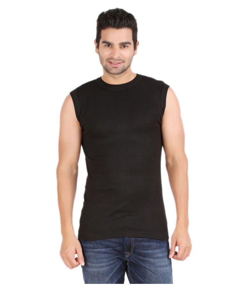 Zippy Black Round T-Shirt Pack of 1
