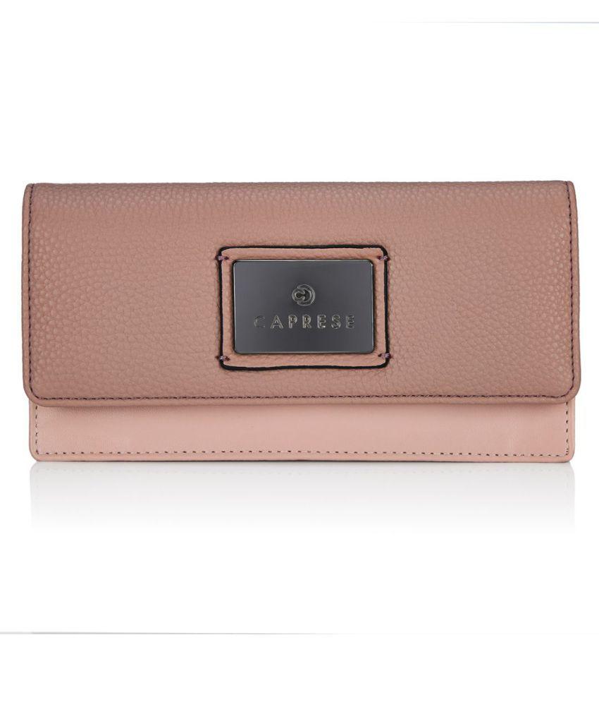 Caprese Pink Wallet