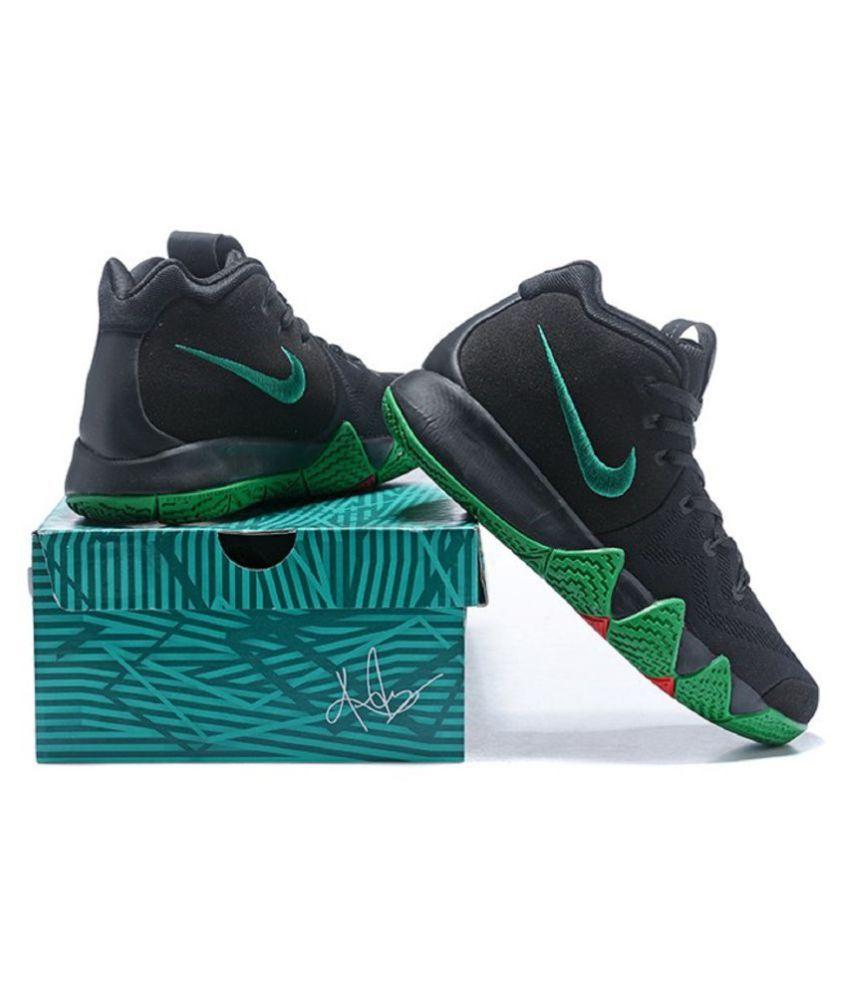 3c722c0f93a2 Nike Kyrie 4 Black Basketball Shoes - Buy Nike Kyrie 4 Black ...