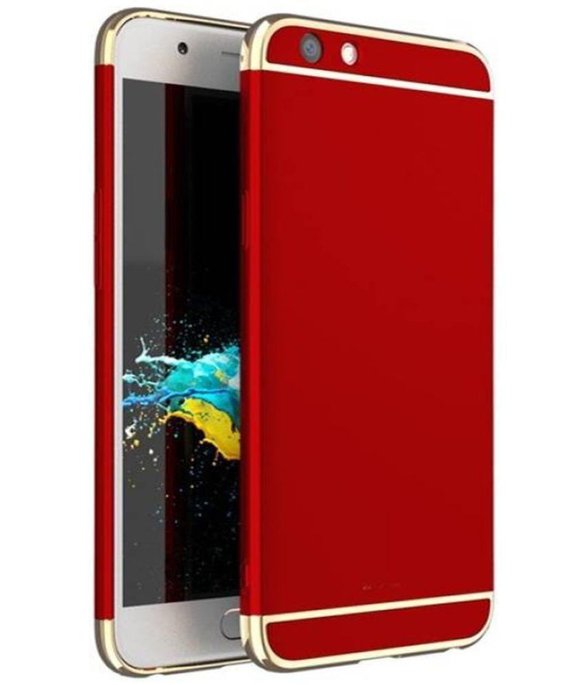 Oppo A83 Hybrid Covers BM - Red