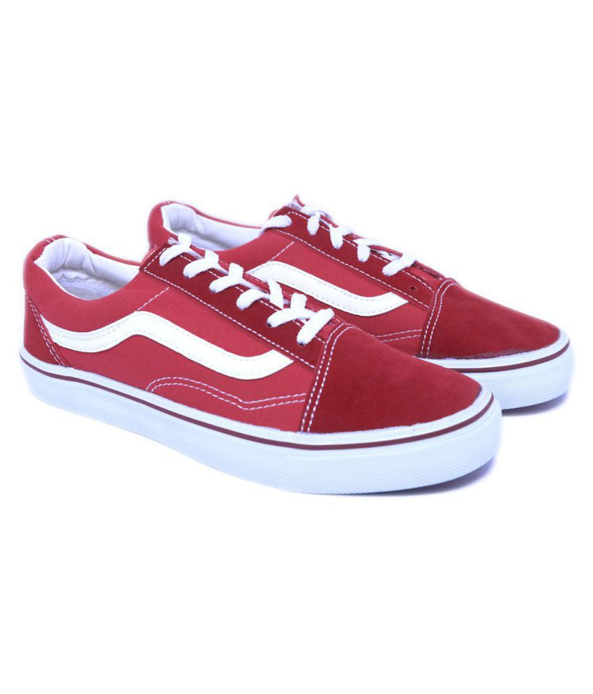 f5a5a0f2fadf44 VANS old Skool Sneakers Red Casual Shoes - Buy VANS old Skool Sneakers Red  Casual Shoes Online at Best Prices in India on Snapdeal