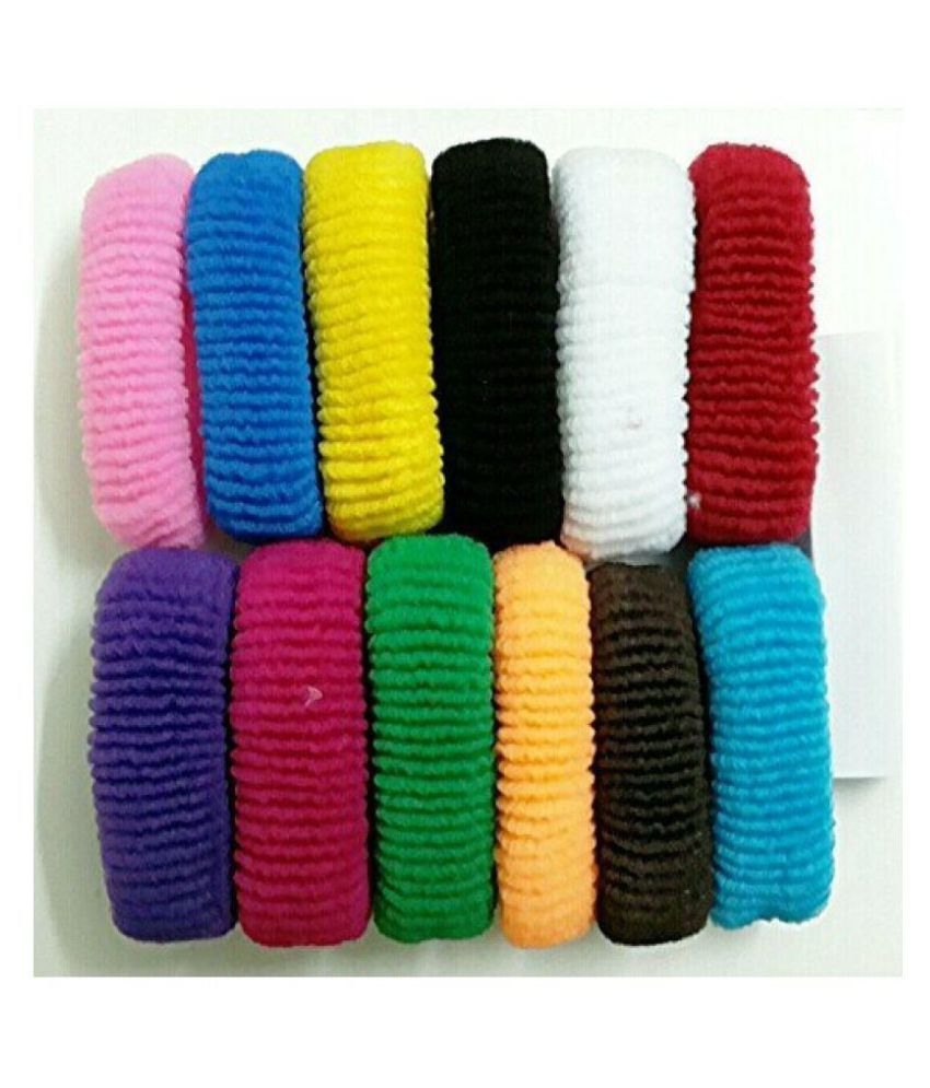 hair rubber band set of 12  Buy Online at Low Price in India - Snapdeal 05821e2fbb5