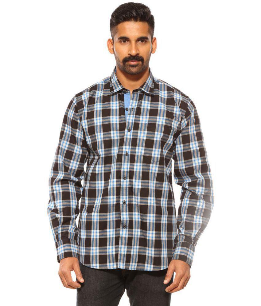 ce56571e8f47 SUMMER LINE Black Regular Fit Shirt - Buy SUMMER LINE Black Regular ...