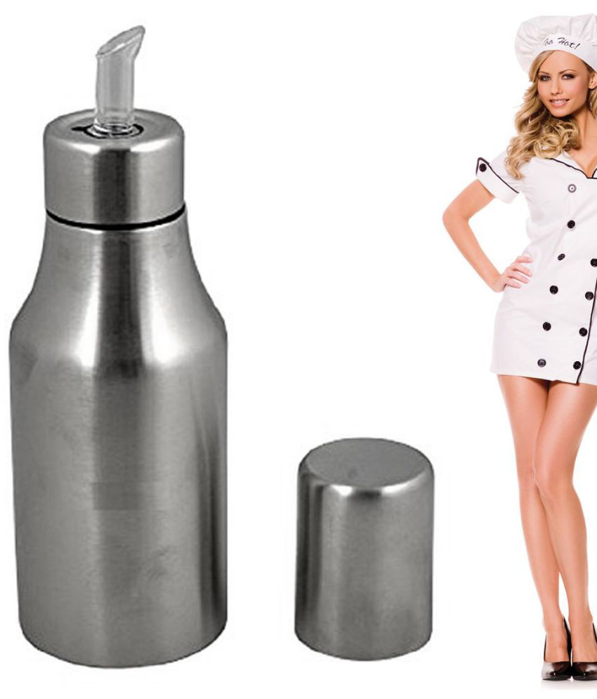Jm Steel Oil Container/Dispenser Set of 1