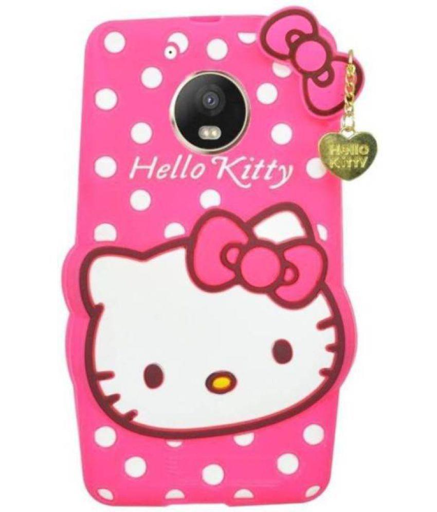 big sale 6fb3b 7cc6a Moto G5s Plus 3D Back Covers By Doyen Creations Hello Kitty