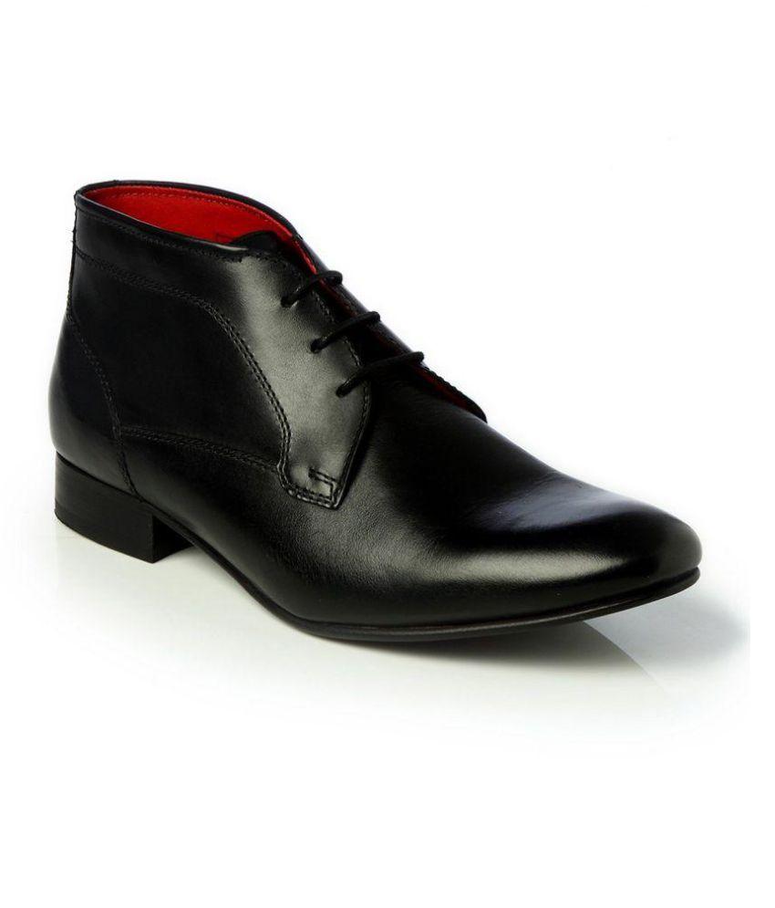 TONI ROSSI Black Chukka boot