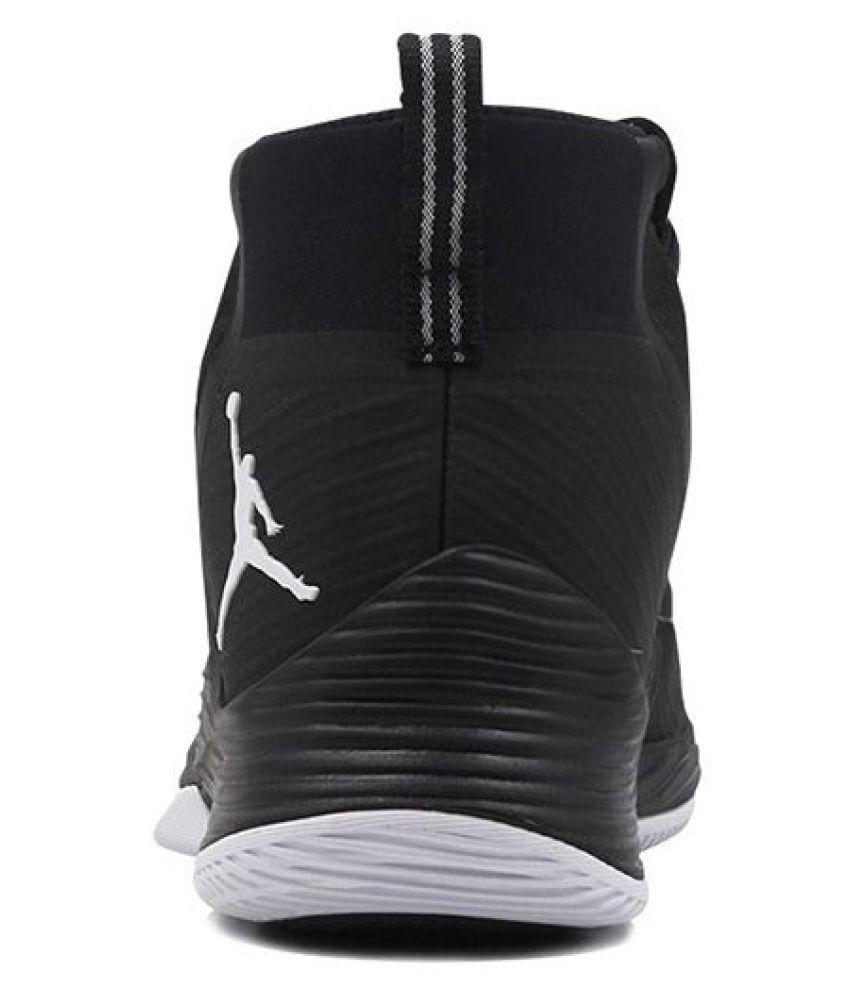 704bb69e23e Jordan Ultra fly 2 Black Running Shoes - Buy Jordan Ultra fly 2 ...