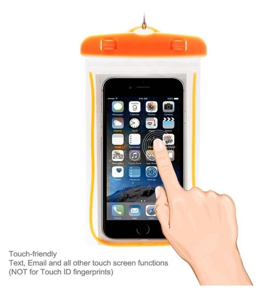 new product e8ad1 24f29 GutarGoo Waterproof Mobile Case(Orange) - Mobile Enhancements Online ...