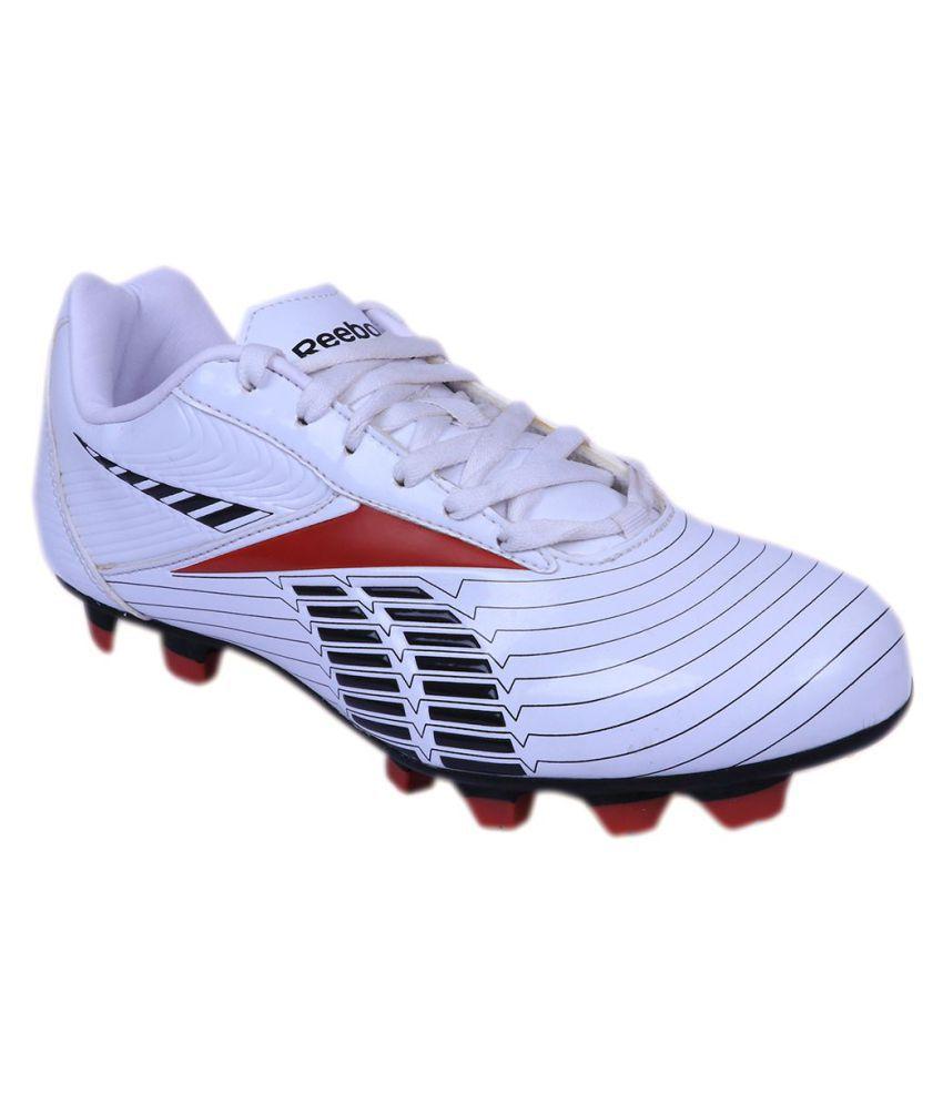 Reebok Game Changer J97532 White Football Shoes - Buy Reebok Game ... 281f0ad10