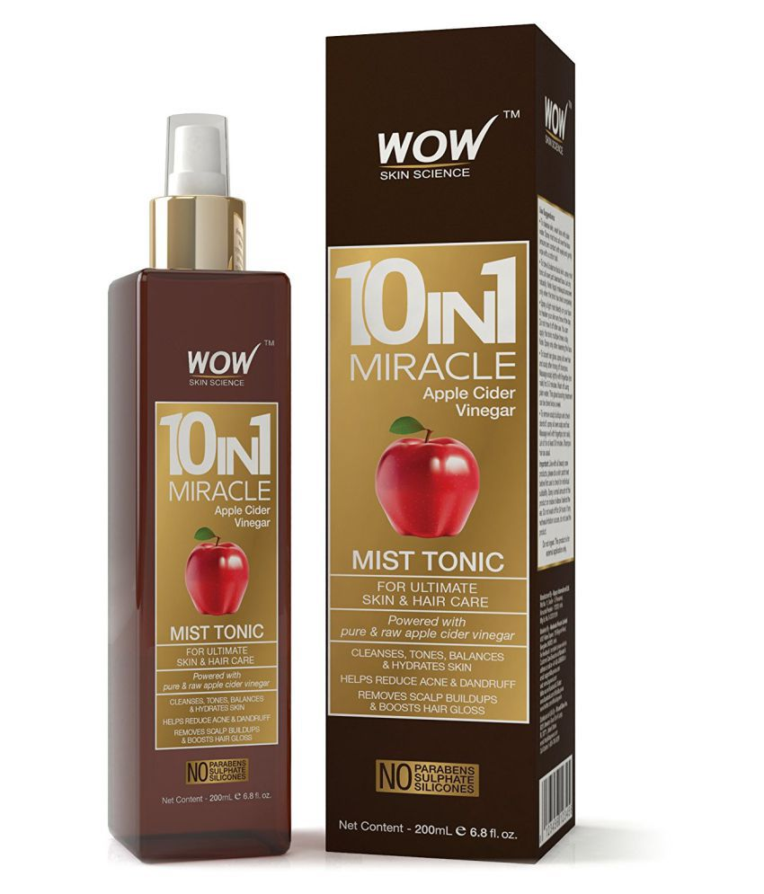 WOW 10 in 1 Miracle Apple Cider Vinegar Mist Tonic