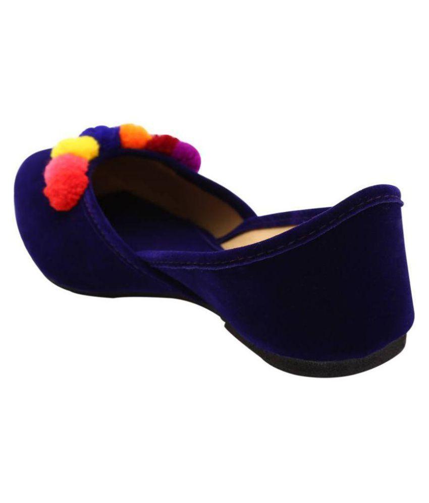 fashion javed Blue Ethnic Footwear 2015 online bLvgOF