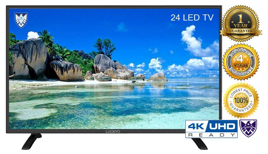 LUCKYO LET 4KR247 61 cm ( 24 ) HD Plus LED Television