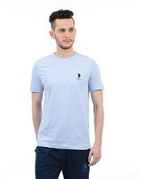 U.S. Polo Assn. Blue Round T-Shirt