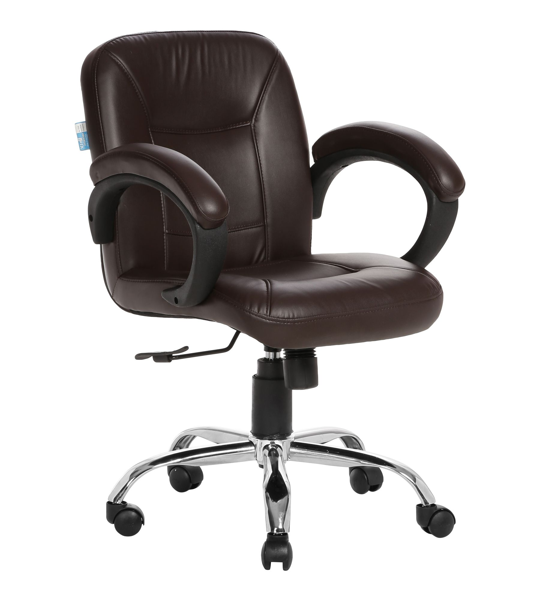 LOW BACK TASK CHAIR BROWN ...
