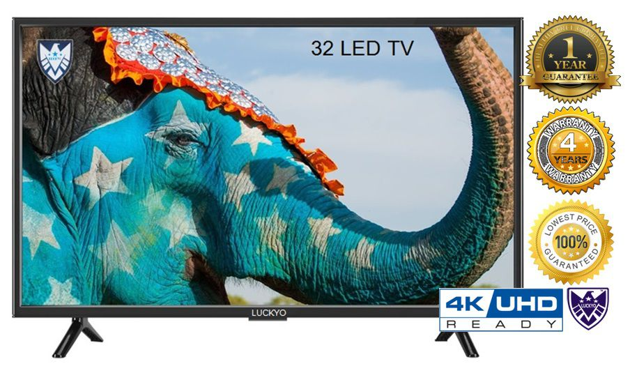 LUCKYO NA 81.28 cm ( 32 ) HD Plus LED Television