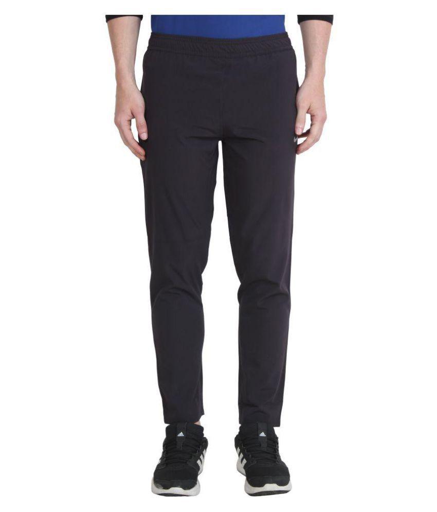 Nike Black Polyester Track Pant for Running