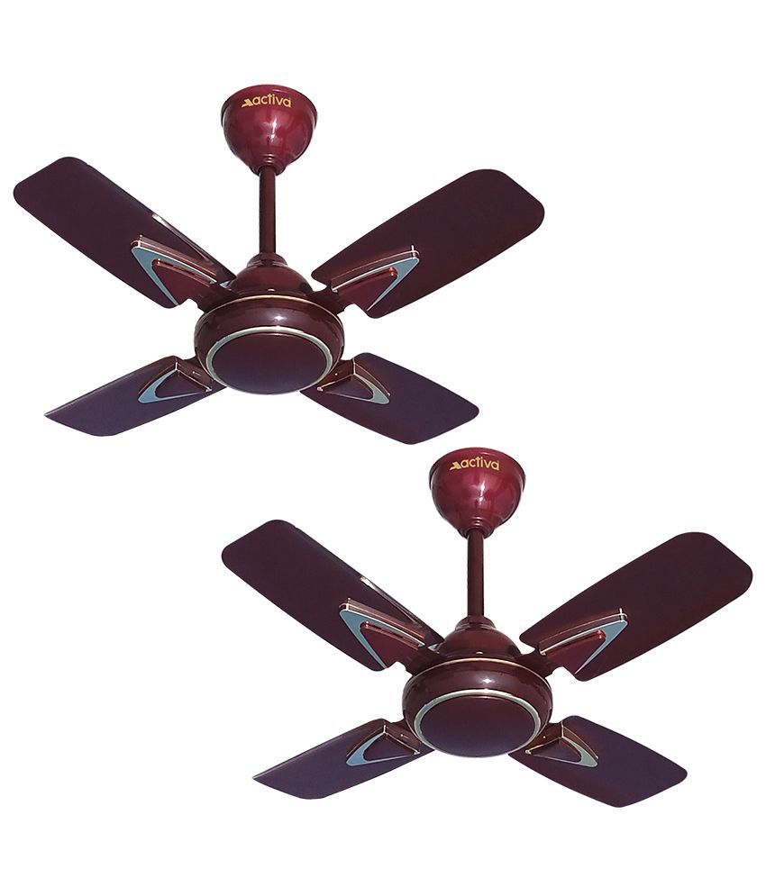 Activa 600 Galaxy 1 Deco Ceiling Fan Brown Price In India