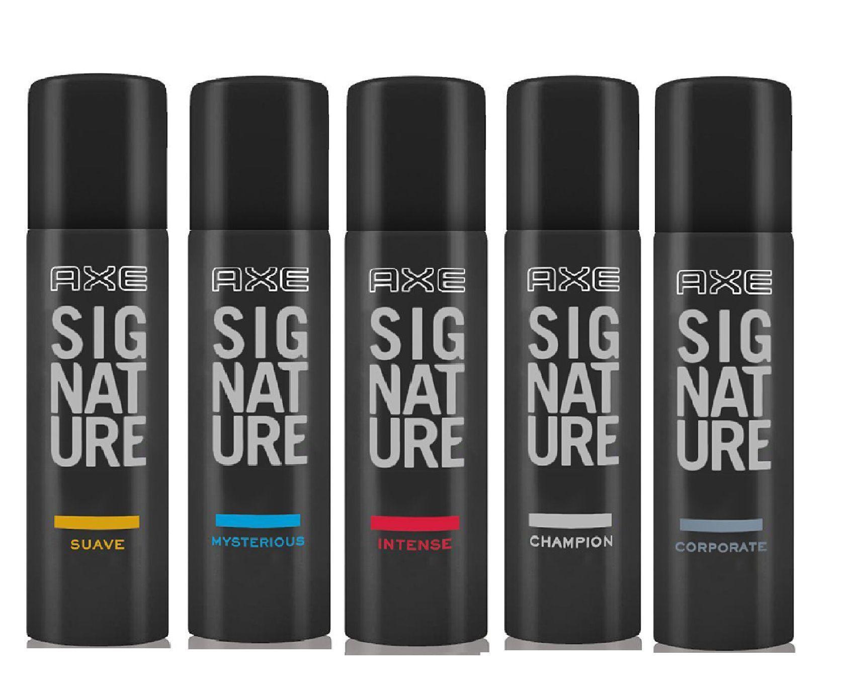 Axe Signature Body Perfume Suave Mysterious Intense Champion