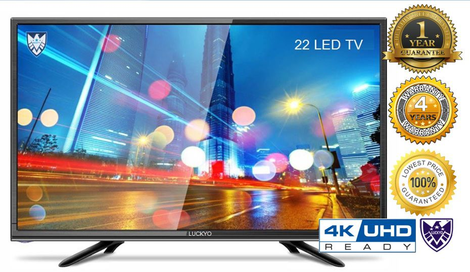 LUCKYO LET 4KR227 56 cm ( 22 ) HD Plus LED Television