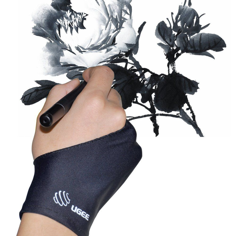 Ugee Artist Glove For Drawing Tablet 1 Unit Of Free Size Suitable