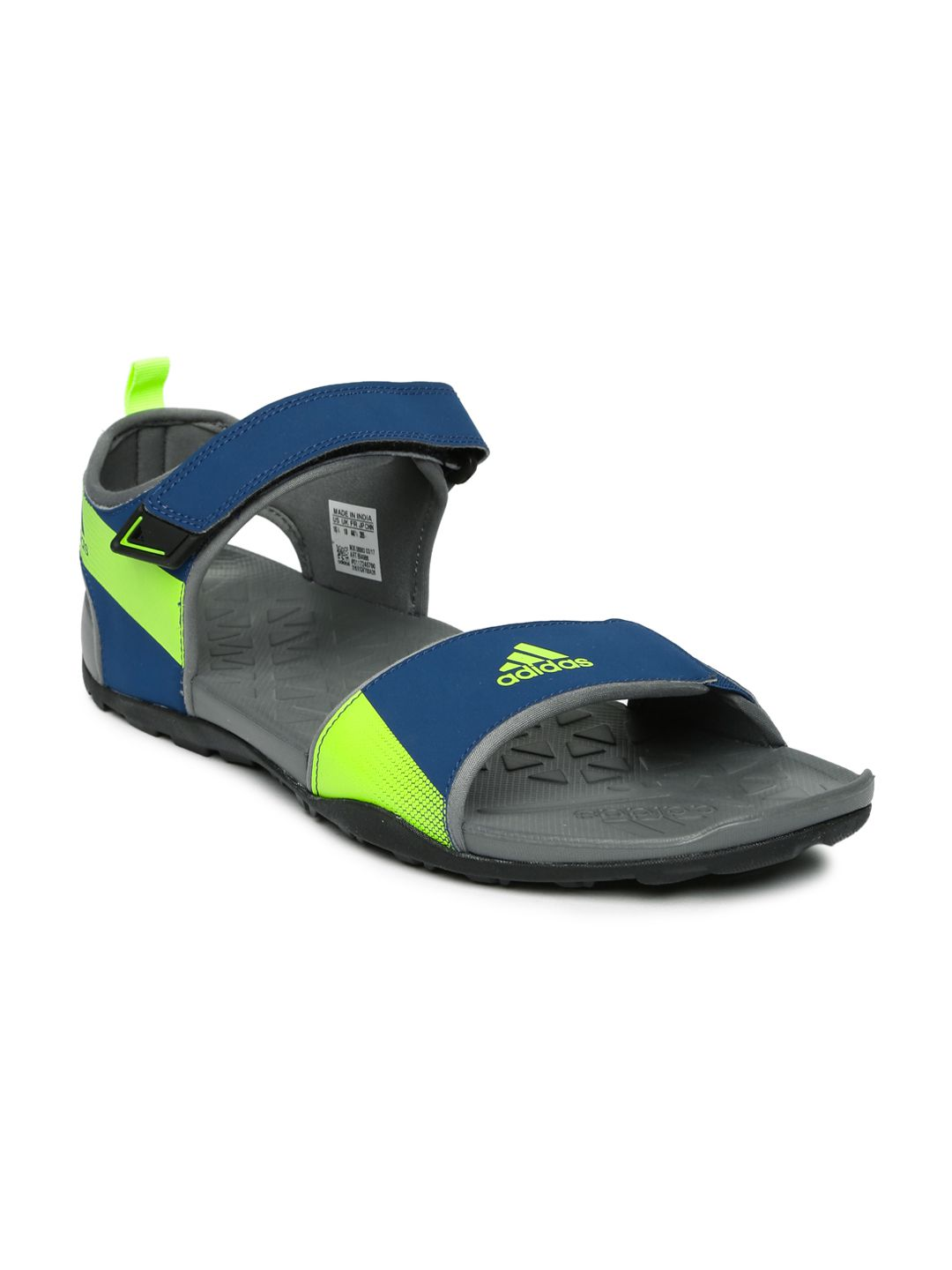 Adidas Men Cyran M Sports Navy Sandals Price in India- Buy Adidas Men Cyran  M Sports Navy Sandals Online at Snapdeal 410b03bf1d6d