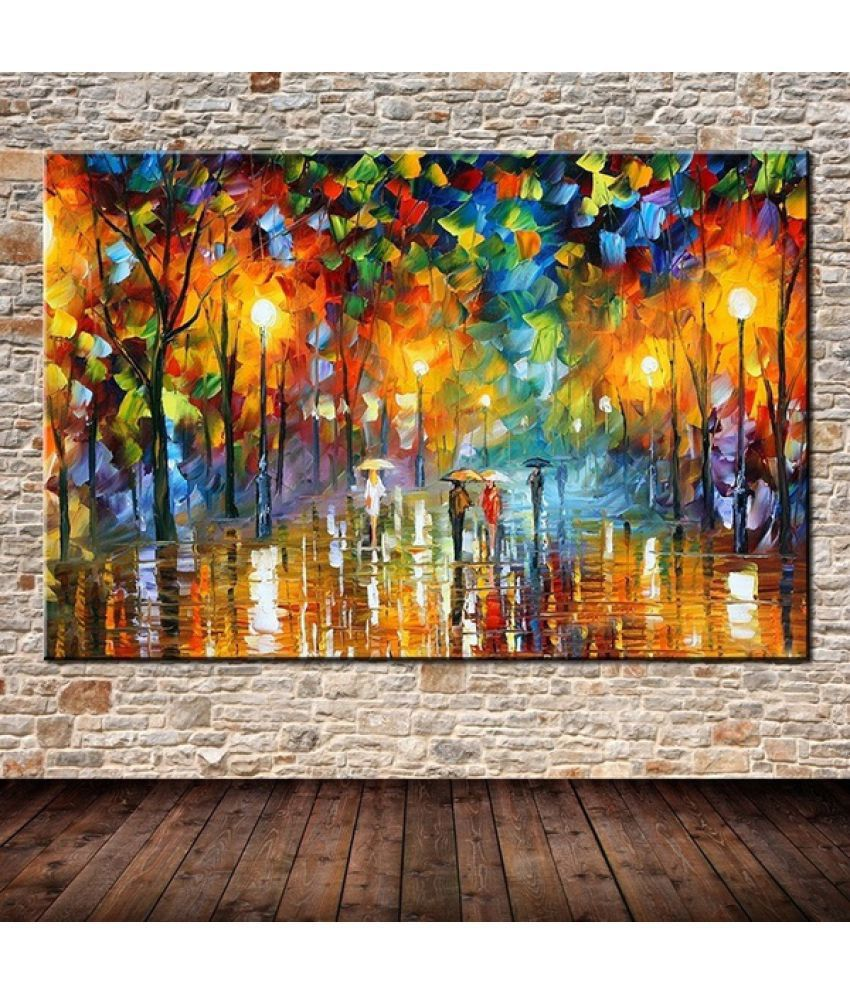 Osm Hills Landscap Canvas Painting without Frame AHDCP-004
