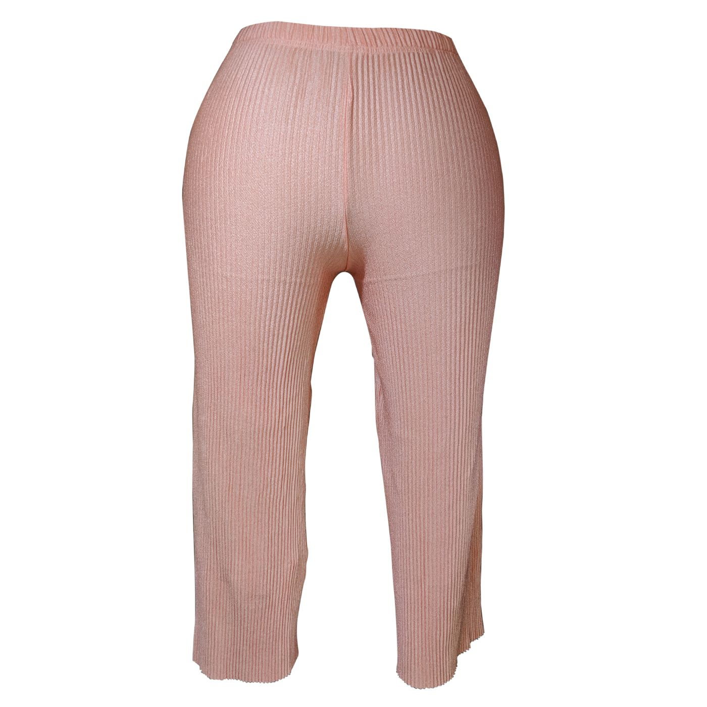 Glosbe Synthetic Jeggings - Pink