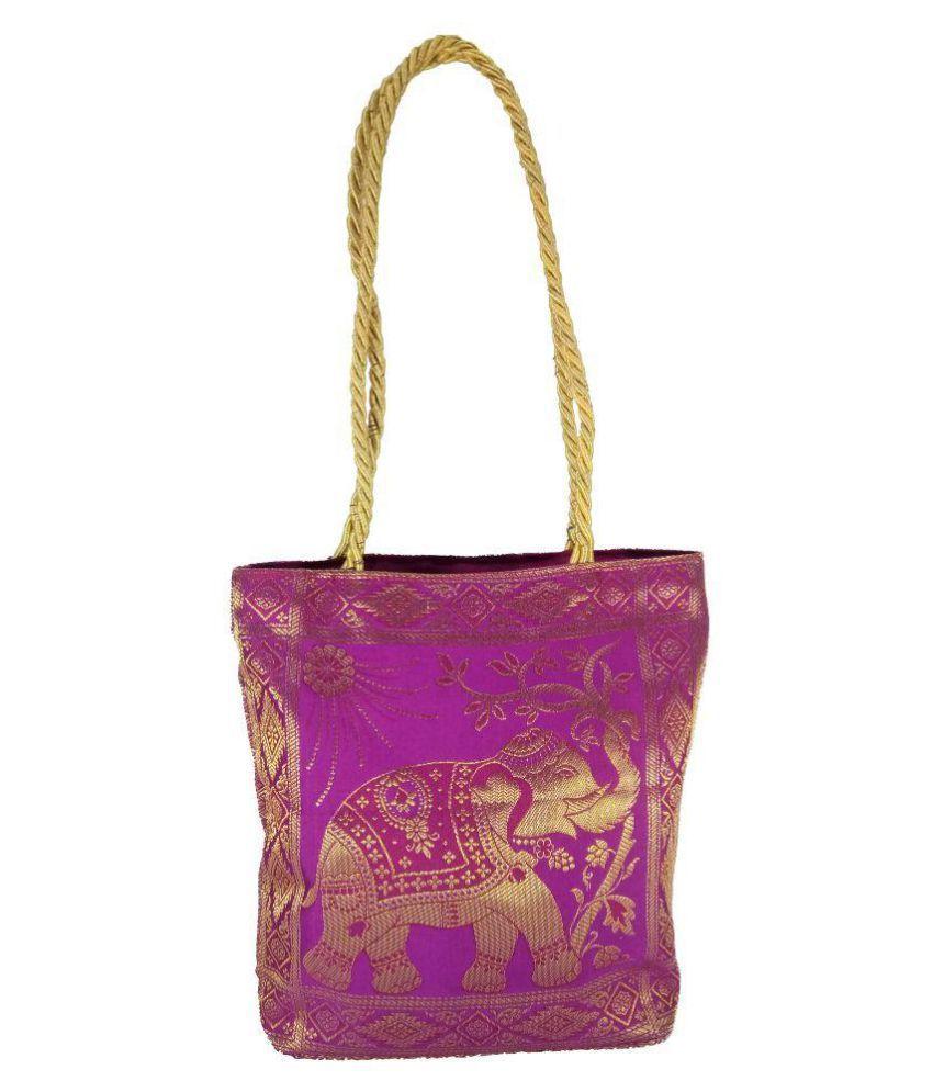 ThirtySeven Pink Fabric Shoulder Bag