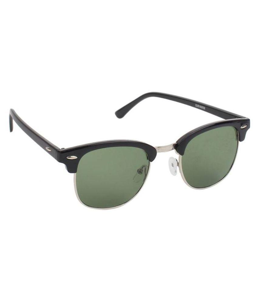Elligator Green Clubmaster Sunglasses ( Club-Green )