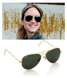 Ray Ban Sunglasses Grey Aviator Sunglasses ( rb 3025-56-14 )
