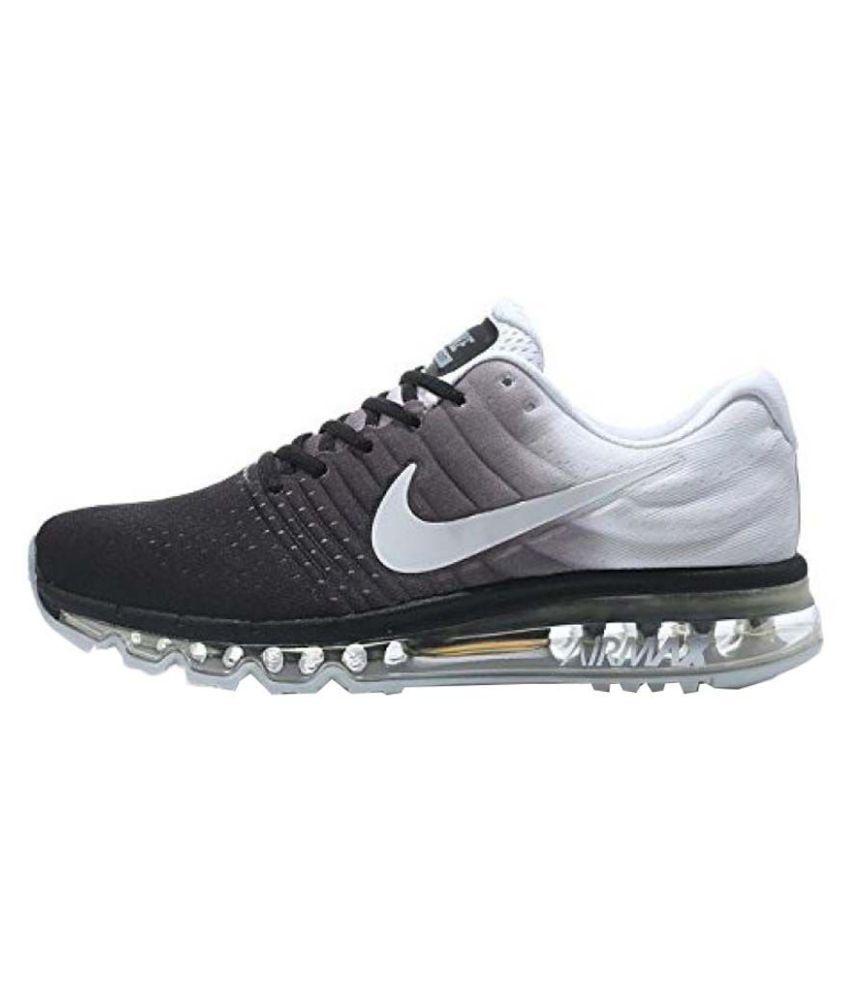 70f647a5ebd9 Nike Airmax 2017 LTD Edition Black White Multi Color Running Shoes - Buy Nike  Airmax 2017 LTD Edition Black White Multi Color Running Shoes Online at  Best ...