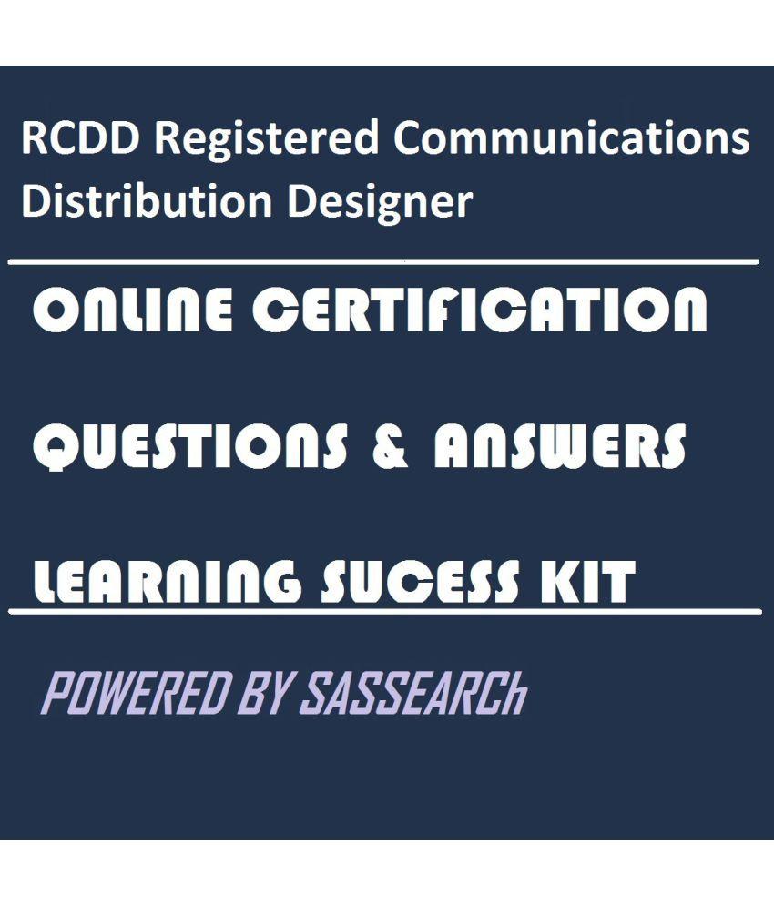 Rcdd Registered Communications Distribution Designer Online