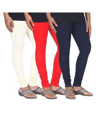 Women's Cotton Churidar Leggings