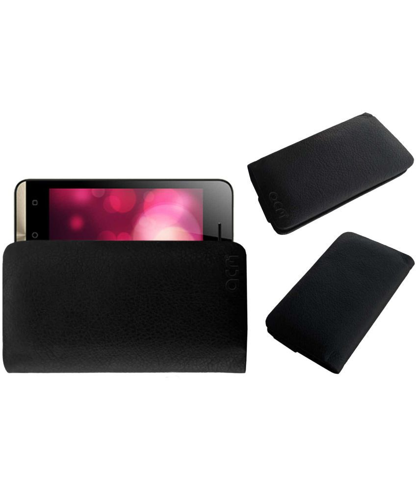 Itel A11 Holster Cover by ACM - Black