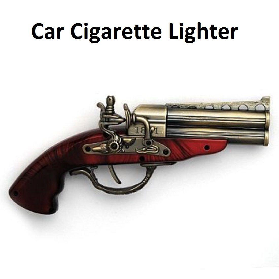 Nibbo Car Cigarette Lighter Brown