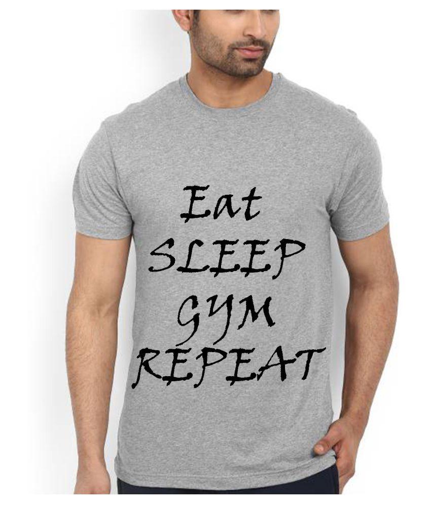 Decot Paradise Grey Round T-Shirt