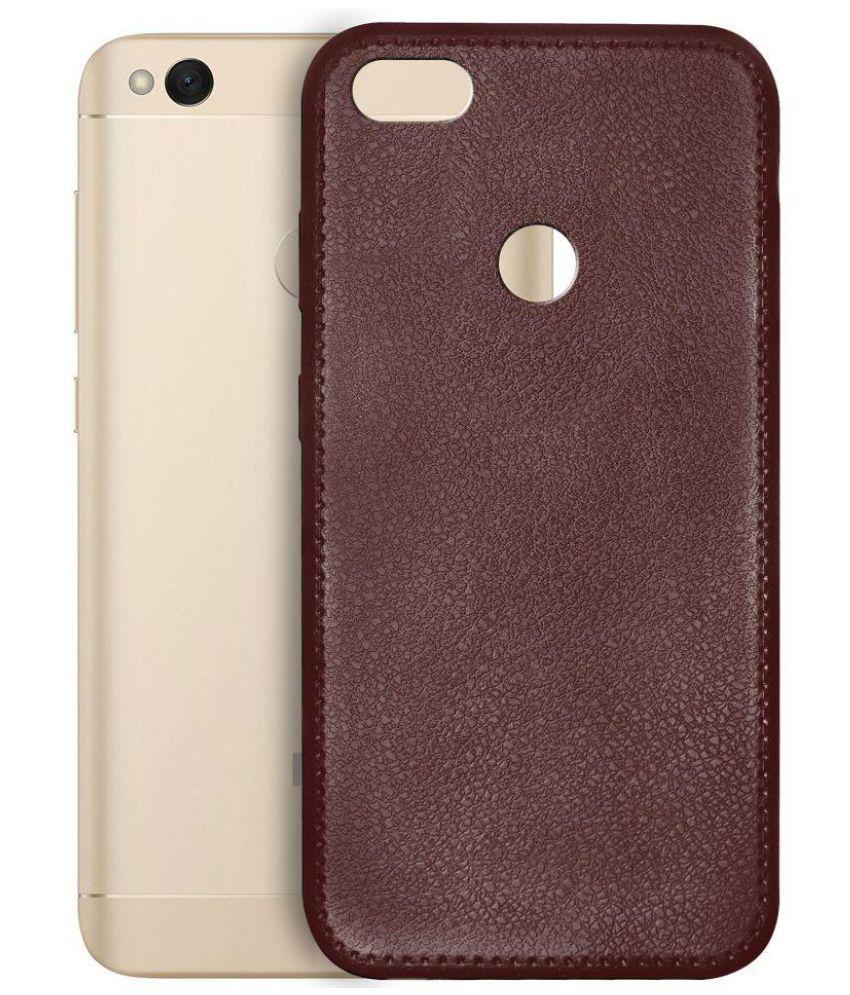Xiaomi Redmi 4 Plain Cases Knotyy - Red