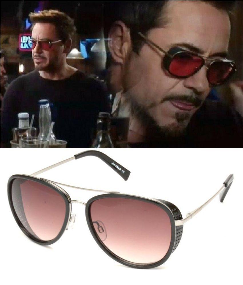 Joe Black - Brown Pilot Sunglasses ( JB-816-C3 )