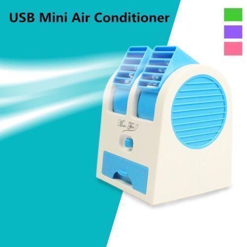 Junction 21 USB Mini AC Fan  Less than 10 Personal White