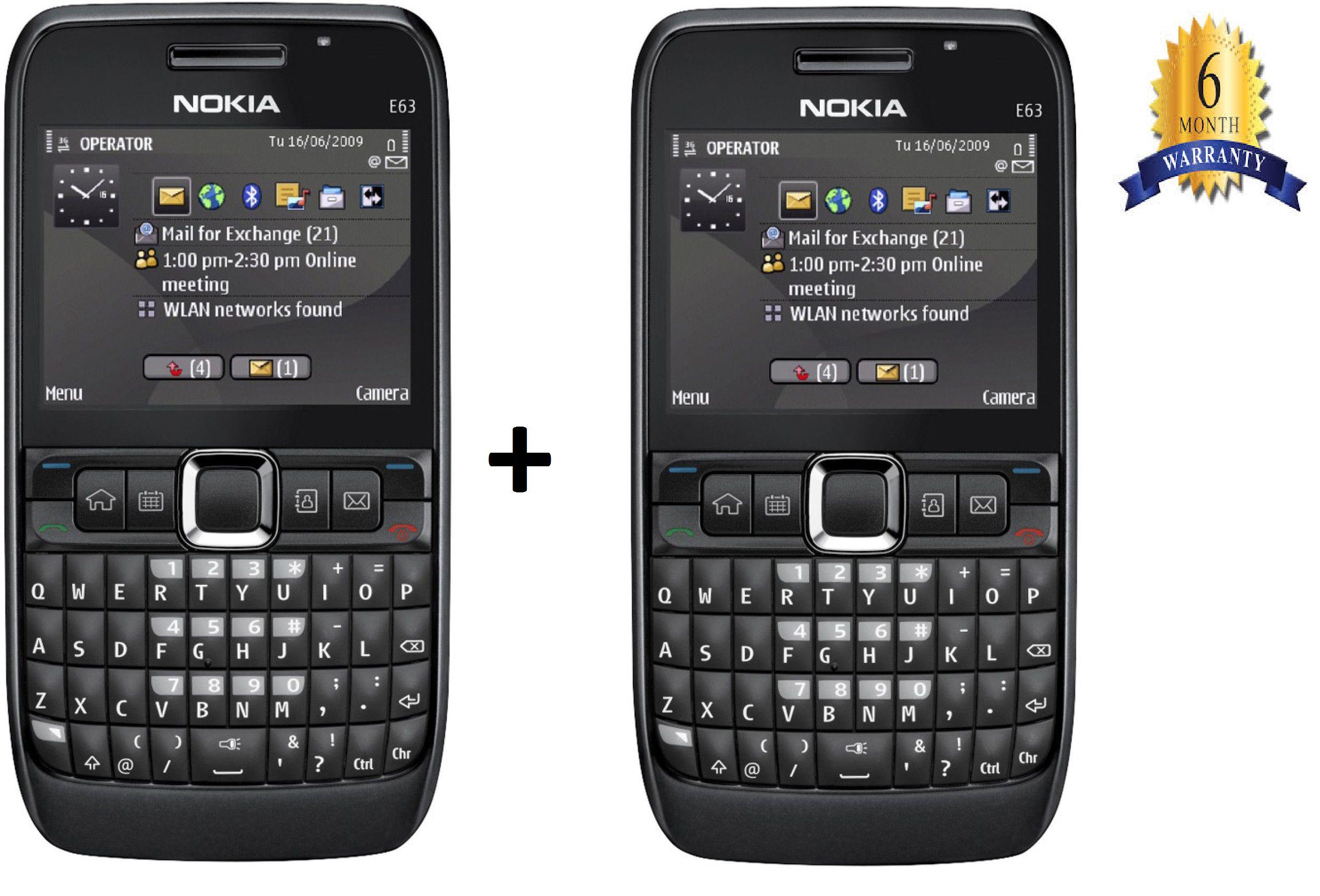 Camolinz Buy Nokia E63 Get Nokia E63 Black