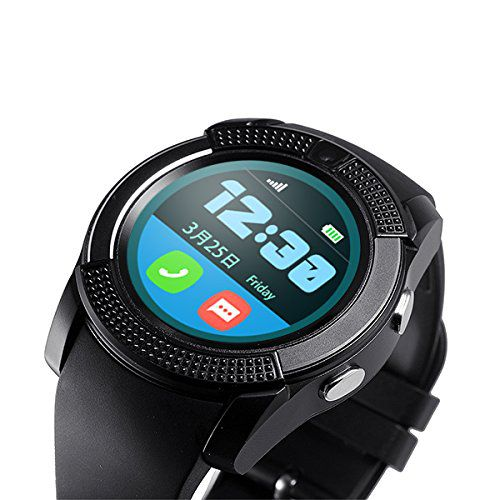 M-STARK V9 Smartwatch suitable  for Galaxy S5 Mini Smart Watches