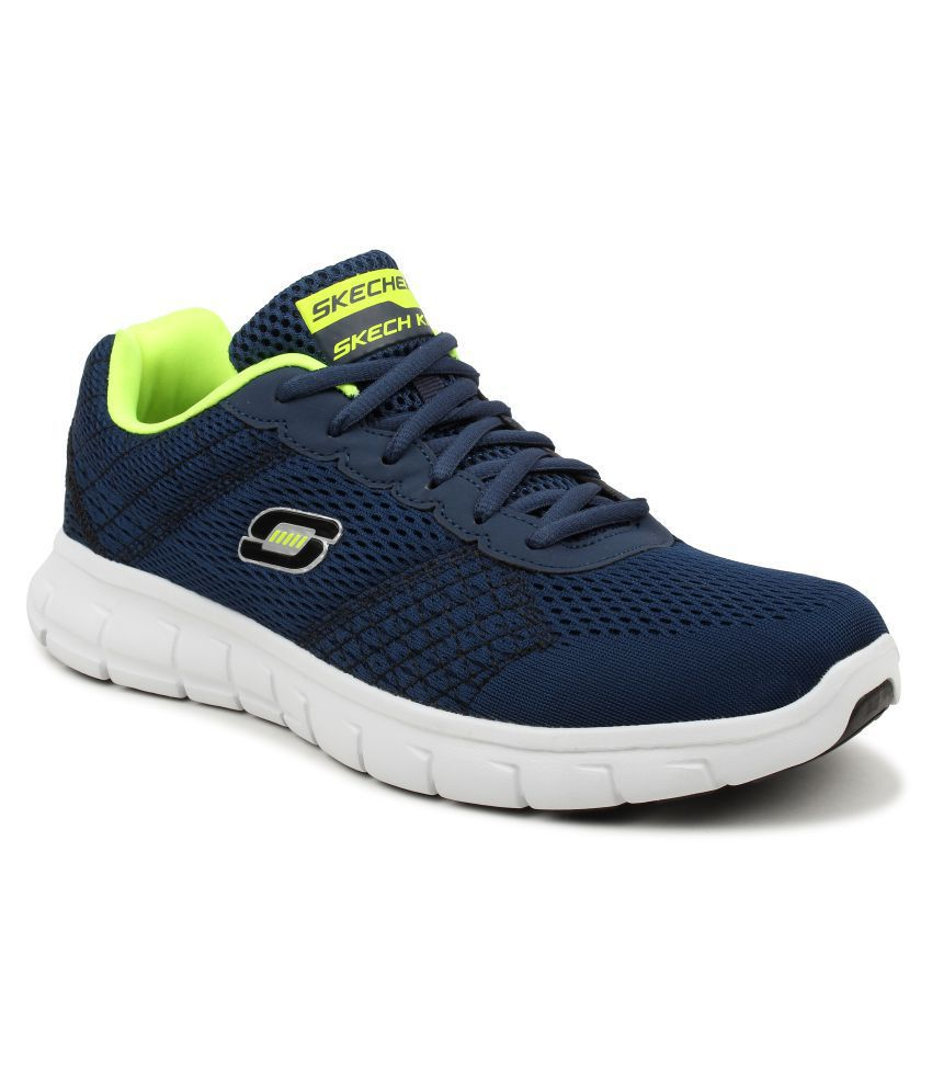 91e6b4028508 Skechers 999726 VIM-FULL Navy Running Shoes - Buy Skechers 999726 VIM-FULL  Navy Running Shoes Online at Best Prices in India on Snapdeal