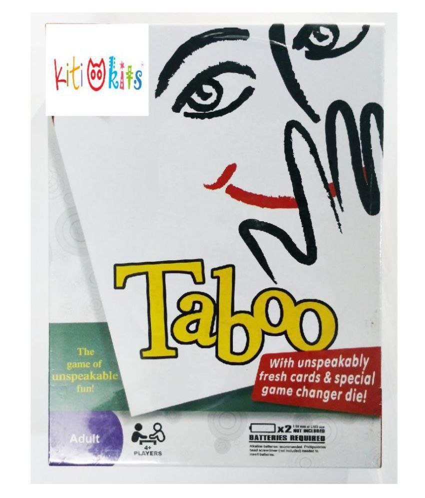 Game Of Unspeakable Fun Taboos Toy For Adult (HCCD ENTERPRISE)