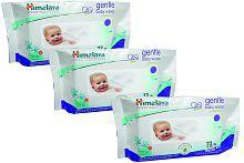 Himalaya Gentle Baby Wipes 72 (Pack of 3)