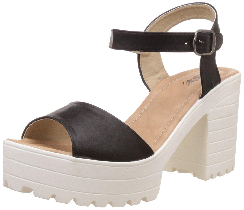 andfoot Black Block Heels